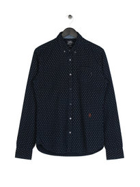 Scotch & Soda All Over Print Shirt Navy