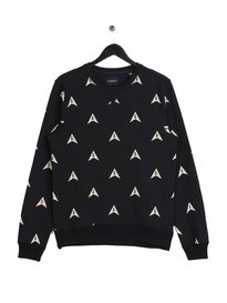 Scotch & Soda All Over Print Sweat Navy