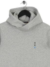 Scotch & Soda AMS Blauw Hoody Grey