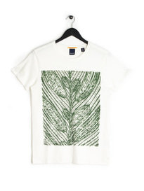 Scotch & Soda AMS Blauw Reg Fit T-Shirt White