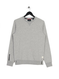 Scotch & Soda Amsterdam Blauw Crew Sweat Grey