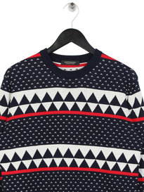 Scotch & Soda Chic Crewneck Pullover Navy