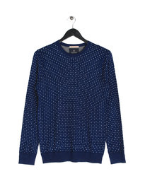 Scotch & Soda Classic Crewneck Pullover Navy