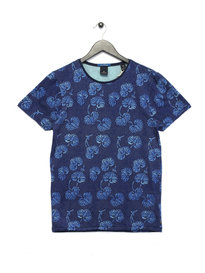 Scotch & Soda Classic Crewneck T-Shirt Combo C Blue