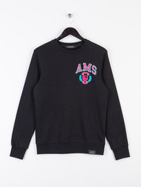 Scotch & Soda Classic Crew Sweat Black