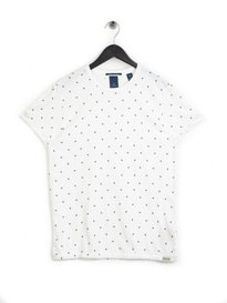 Scotch & Soda Classic Jersey T-Shirt White
