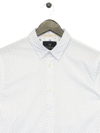 Scotch & Soda Classic Long Sleeve Shirt White