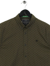 Scotch & Soda Classic Oxford Shirt Green