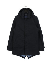 Scotch & Soda Classic Parka Jacket Navy