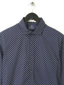 SCOTCH & SODA CLASSIC SHIRT NAVY