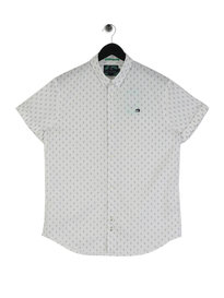 Scotch & Soda Classic Short Sleeve Shirt White