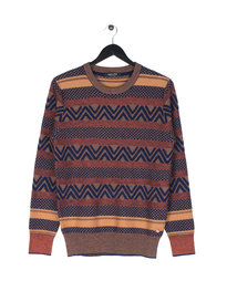 Scotch & Soda Crewneck Pullover Brown