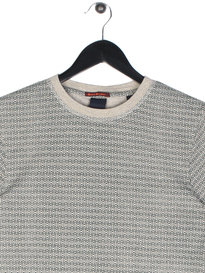 Scotch & Soda Crewneck T-Shirt In Jersey Grey