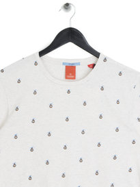 Scotch & Soda Easy Crewneck Jersey T-Shirt White