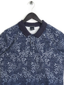 Scotch & Soda Garment Dyed Polo Navy