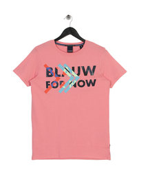 Scotch & Soda Graphic T-Shirt Pink