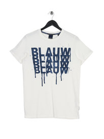 Scotch & Soda Graphic T-Shirt White