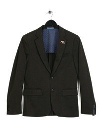 Scotch & Soda Half Lined Knitted Blazer Oliver Green