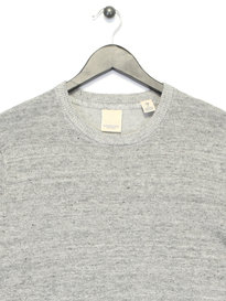 Scotch & Soda Home Alone Crew Neck Knit Grey