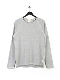 Scotch & Soda Home Alone Long Sleeve T-shirt Grey
