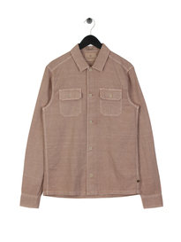 Scotch & Soda Linen Worker Shirt Pink