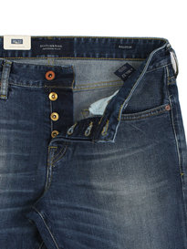 Scotch & Soda Ralston Blauw Sugar Blue Denim