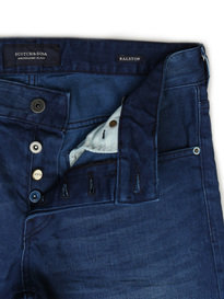 SCOTCH & SODA RALSTON WINTER SPIRIT DENIM BLUE