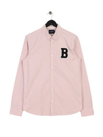 Scotch & Soda Regular Fit AMS Blauw Shirt Pink