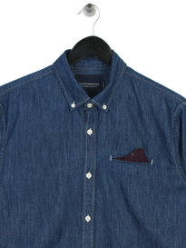 Scotch & Soda Regular Fit Denim Shirt Blue