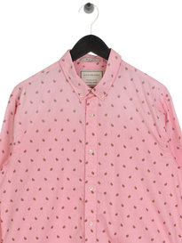 Scotch & Soda Regular Fit Oxford Shirt Pink
