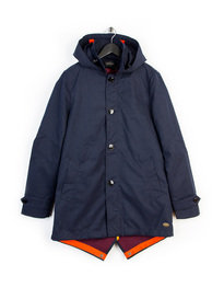 SCOTCH & SODA TRENCH COAT NAVY