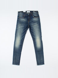 SCOTCH & SODA SKIM HOCUS POCUS DENIM BLUE