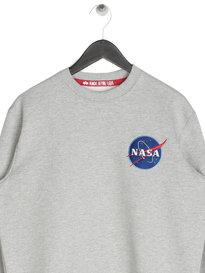 Alpha Industries Space Shuttle Sweater Grey