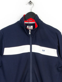 WEEKEND OFFENDER URE SWEAT TRACK TOP NAVY
