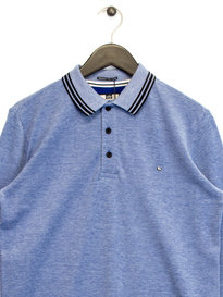 Weekend Offender Collins Polo Shirt Blue