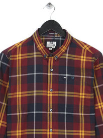 Weekend Offender Curtiz Shirt Burgundy