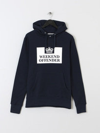 WEEKEND OFFENDER HM SERVICE CLASSIC HOODY NAVY