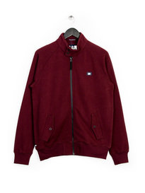 WEEKEND OFFENDER HORDEN SWEAT TOP BURGUNDY