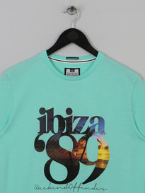 WEEKEND OFFENDER IBIZA 89 T SHIRT TEA TREE