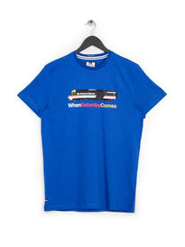 WEEKEND OFFENDER INTERCITY 125 T-SHIRT BLUE