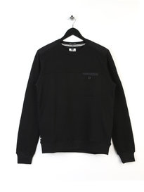 Weekend Offender Kubrick Sweat Black