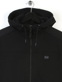 Weekend Offender Lee Zip Up Hoody Black