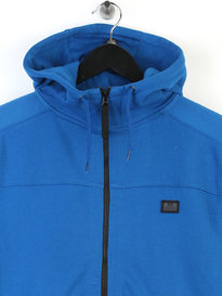 Weekend Offender Lee Zip Up Hoody Blue