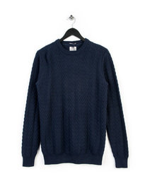 Weekend Offender Lubitsch Knitwear Navy