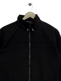 Weekend Offender Mimosa Zip Up Sweat Top Black