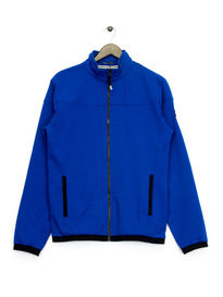 Weekend Offender Mimosa Zip Up Sweat Top Blue