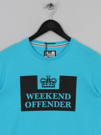 WEEKEND OFFENDER PRISON T SHIRT OCEAN