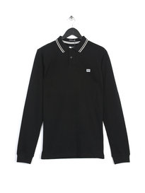 Weekend Offender Rife Polo Black