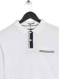 Weekend Offender Stor Polo White
