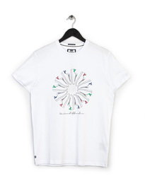 WEEKEND OFFENDER TRAINER WHEEL T-SHIRT WHITE